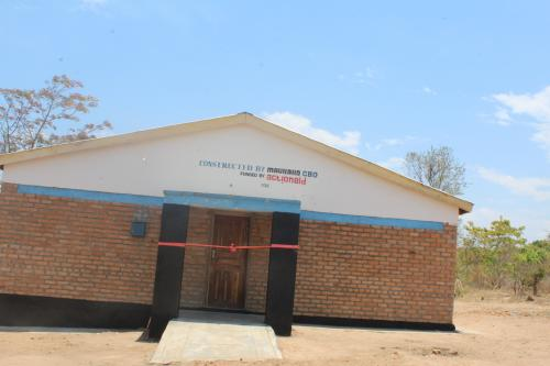 Mibanga girls hostel that was officially handed over in November, 2020