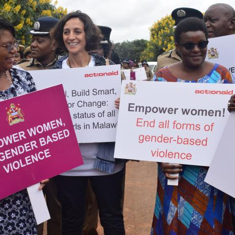 International Women's Day in Malawi - high level delegation