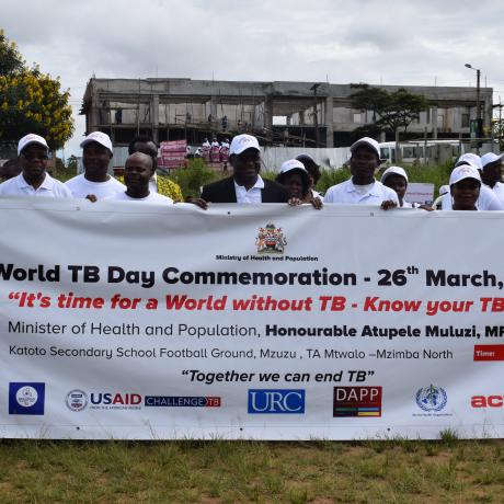 National commemoration of TB Day in Malawi