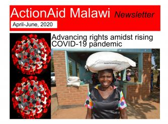 ActionAid Malawi April-June newsletter